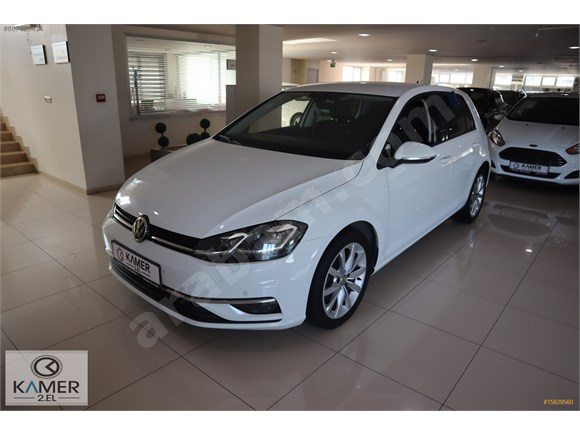 KAMER DEN 2018 MODEL VOLKSWAGEN GOLF 1.6 TDİ HİGHLİNE OTM.