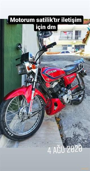 Sahibinden Kuba çita 125 2013 Model İzmir 2.000 Km Kırmızı