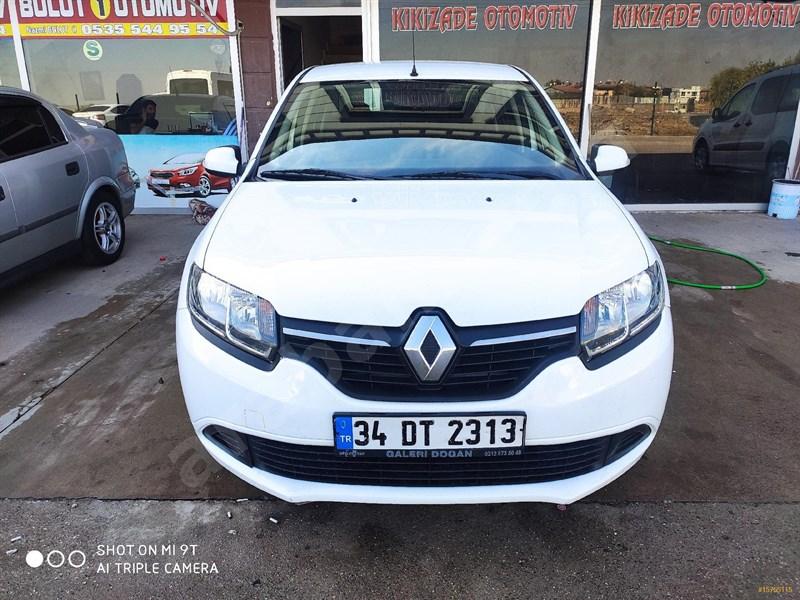 Galeriden Renault Symbol 1.5 Dci Joy 2014 Model Diyarbakır 168.000 Km Beyaz