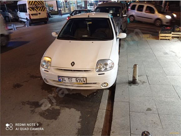 Renault Clio 1.4 16V KİLOMETRE ORİJİNALDİR