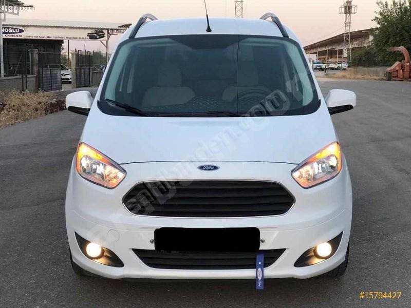 Galeriden Ford Tourneo Courier 1.6 Tdci Titanium 2017 Model şanlıurfa 89.000 Km Beyaz