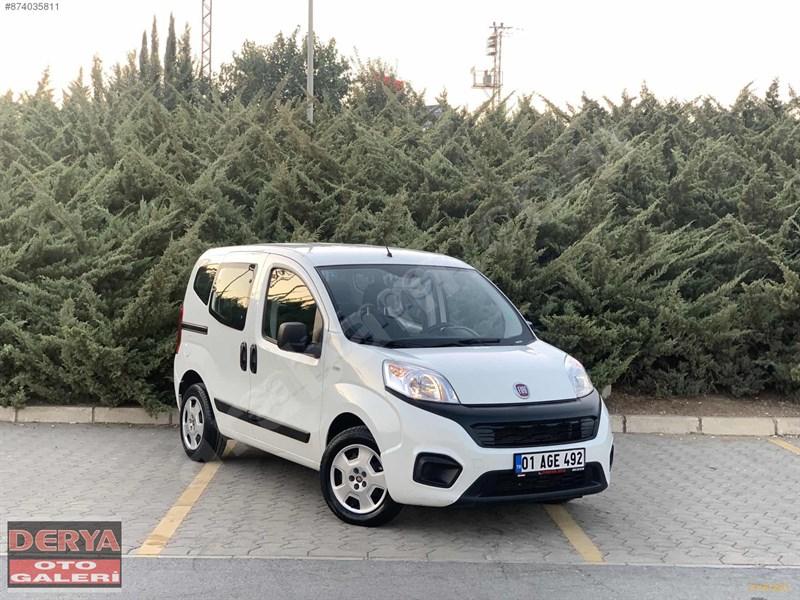 Galeriden Fiat Fiorino Combi 1.3 Multijet Pop 2019 Model Adana 27.900 Km Beyaz