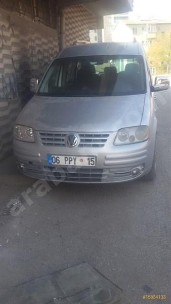 Sahibinden Volkswagen Caddy 1.9 Tdi Kombi 2004 Model Ankara 357.000 Km -