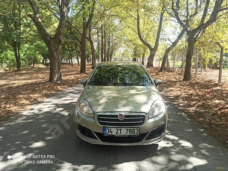 Sahibinden Fiat Linea 1.3 Multijet Easy 2014 Model İstanbul 158.000 Km şampanya