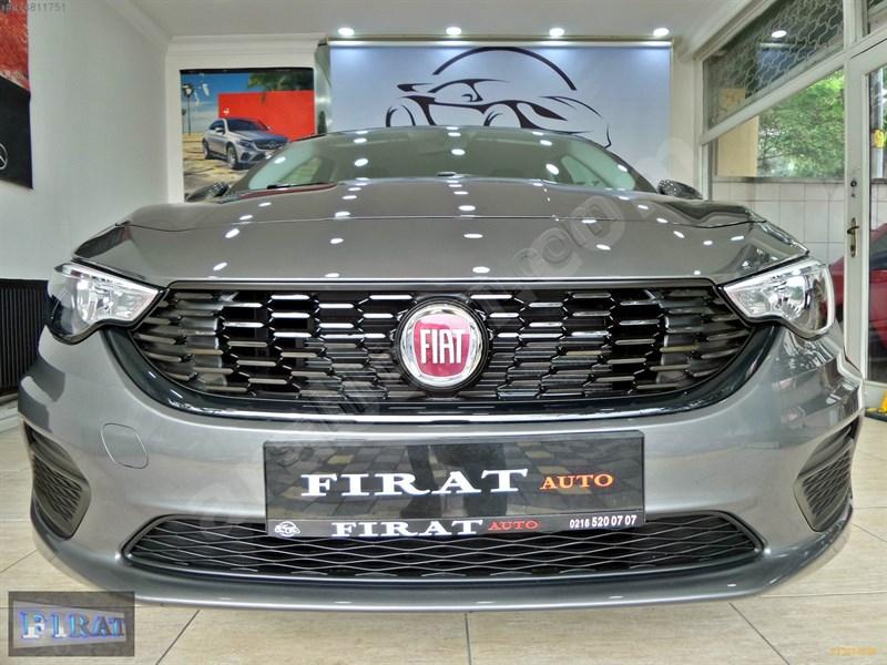 Galeriden Fiat Egea 1.4 Fire Easy 2020 Model İstanbul 0 Km Gri