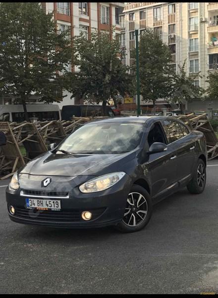 Sahibinden Renault Fluence 1.5 Dci Dynamique 2012 Model İstanbul 233.000 Km Gri (gümüş)