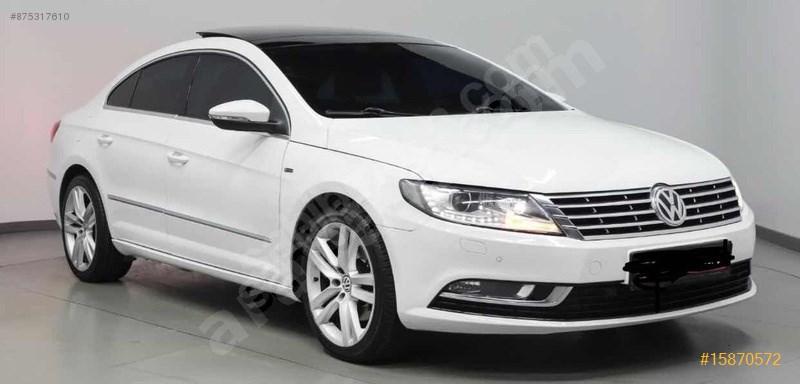 Sahibinden Volkswagen Vw Cc 1.4 Tsi 2015 Model İstanbul 110.000 Km Beyaz