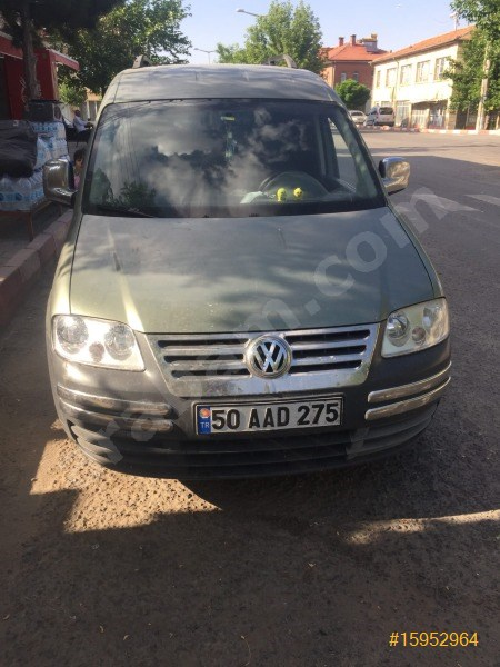 Sahibinden Volkswagen Caddy 1.9 Tdi Kombi 2006 Model Nevşehir 260.000 Km -