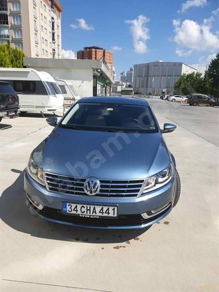 Sahibinden Volkswagen Vw Cc 1.4 Tsi 2016 Model İstanbul 106.000 Km Mavi