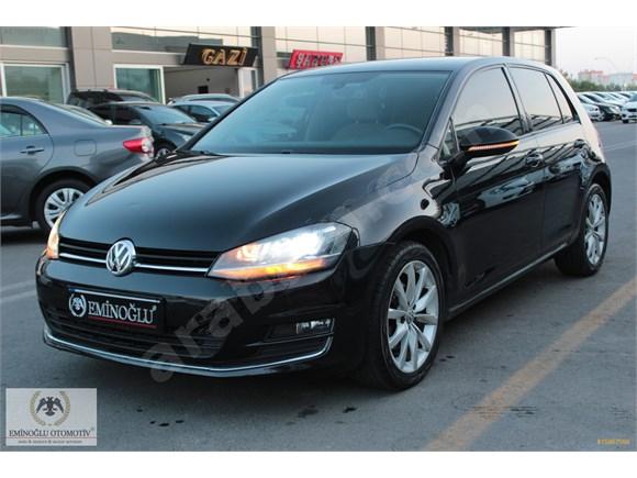 2012 VW GOLF 1.6 TDI HİGHLİNE DSG-SİYAH İÇİ BEJ-117.000KM