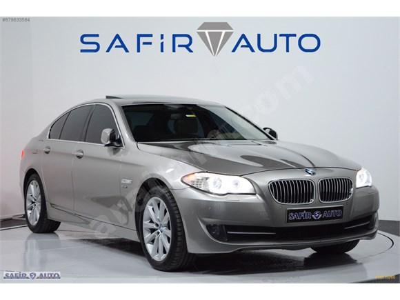 SAFİR AUTO 2012 BMW 525 XDRİVE DEĞİŞENSİZ KAZASIZ VAKUM HAYALET