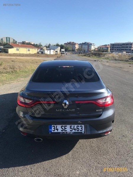 Sahibinden Renault Megane 1.2 Tce Touch 2016 Model İstanbul 76.000 Km Gri