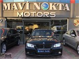 MAVİ NOKTA MOTORS 2008 BMW 320d STANDART+BEJ+ANGEL+18 JAN+DOUBLE