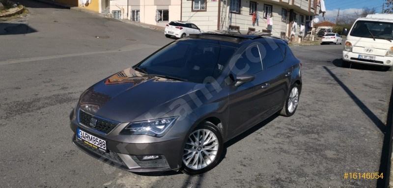 Sahibinden Seat Leon 1.6 Tdi Style 2017 Model İstanbul 110.000 Km Füme