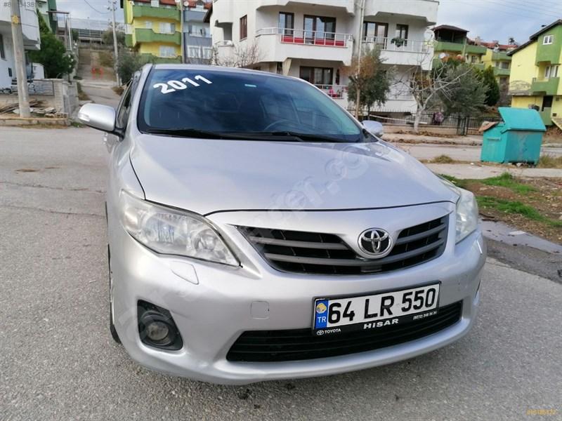 Galeriden Toyota Corolla 1.4 D-4d Comfort 2011 Model Denizli 149.000 Km Gri