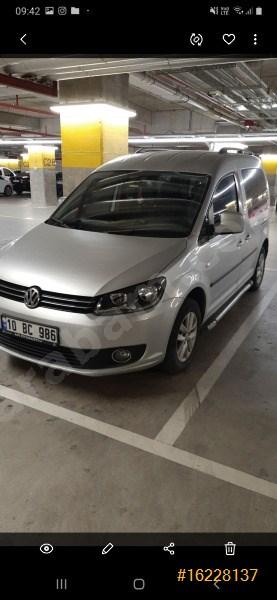 Sahibinden Volkswagen Caddy 1.6 Tdi Comfortline 2015 Model Balıkesir 41.000 Km Gri