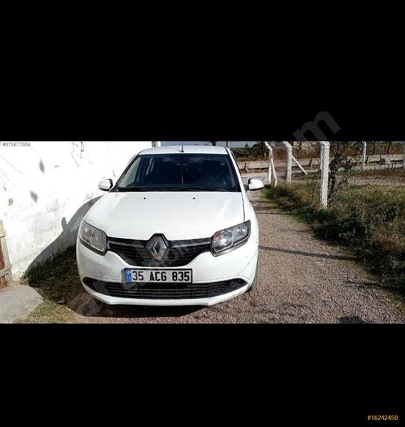 Sahibinden Renault Symbol 1.5 Dci Joy 2014 Model İzmir 128.000 Km Beyaz