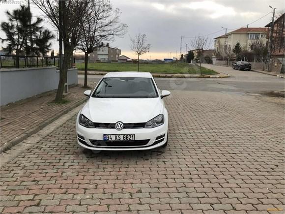 sahibinden volkswagen golf 1 2 tsi comfortline 2015 model istanbul 103 600 km beyaz 16265384 arabam com