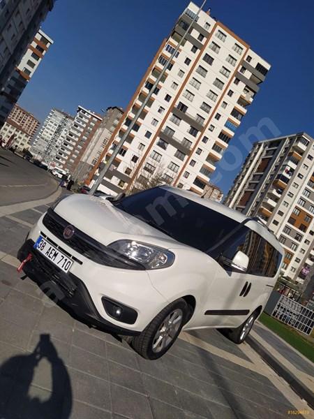 Sahibinden Fiat Doblo Combi 1.3 Multijet Safeline 2015 Model Kayseri 86.600 Km Beyaz