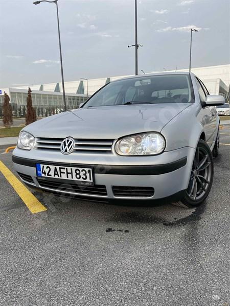 Sahibinden Volkswagen Golf 1.6 2000 Model Konya 239.000 Km Gri (gümüş)