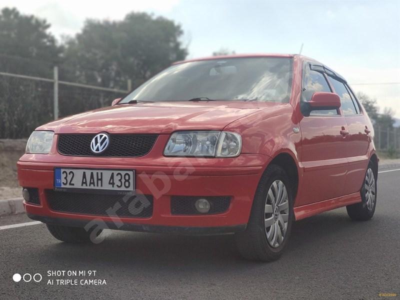 Sahibinden Volkswagen Polo 1.4 Comfortline 2001 Model Isparta 250.000 Km Kırmızı