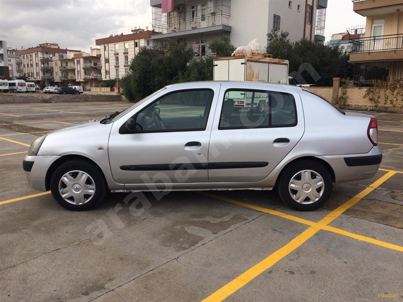 Galeriden Renault Clio 1.5 Dci Alize 2006 Model Antalya 160.000 Km Gri (gümüş)