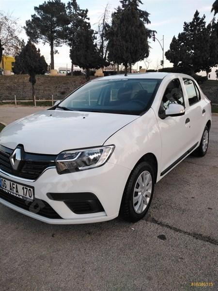 Galeriden Renault Symbol 1.5 Dci Joy 2017 Model Gaziantep 110.000 Km Beyaz