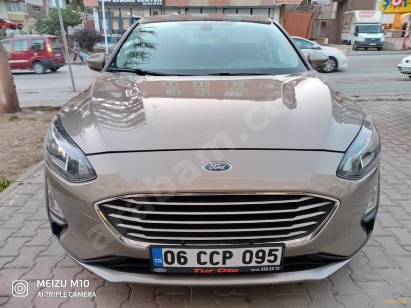 Sahibinden Ford Focus 1.5 Tdci Trend X 2019 Model Diyarbakır 34.600 Km Gri