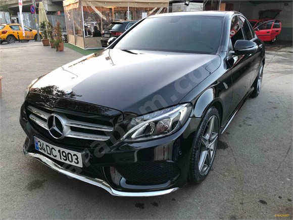 Sahibinden Mercedes - Benz C 180 AMG 7G-Tronic 2015 Model