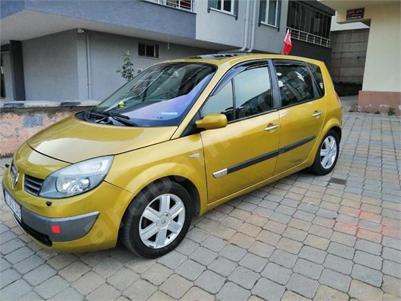 sahibinden renault scenic 1 6 dynamique 2004 model bursa 242 000 km sari 16434057 arabam com