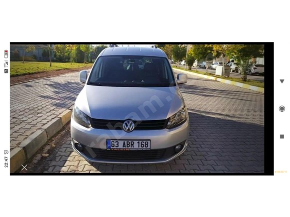 Sahibinden Volkswagen Caddy 1.6 TDI Trendline 2014 Model