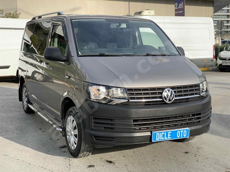 Galeriden Volkswagen Transporter 2.0 Tdi City Van 2018 Model İstanbul 55.000 Km Bej
