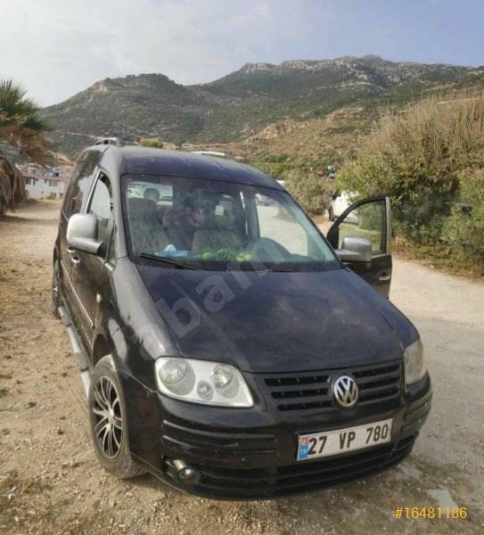 Sahibinden Volkswagen Caddy 1.9 Tdi Kombi 2006 Model Diyarbakır 282.000 Km Siyah