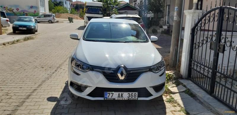 Sahibinden Renault Megane 1.6 Touch 2019 Model Yalova 32.000 Km Beyaz