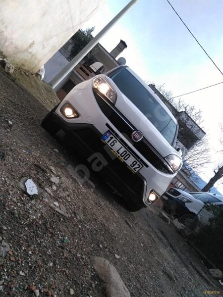 Sahibinden Fiat Doblo Combi 1.3 Multijet Safeline 2016 Model Bursa 107.000 Km Beyaz