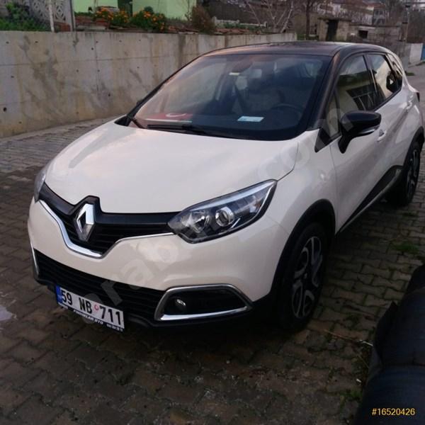 Sahibinden Renault Captur 1.5 Dci Icon 2015 Model Tekirdağ 54.000 Km Bej