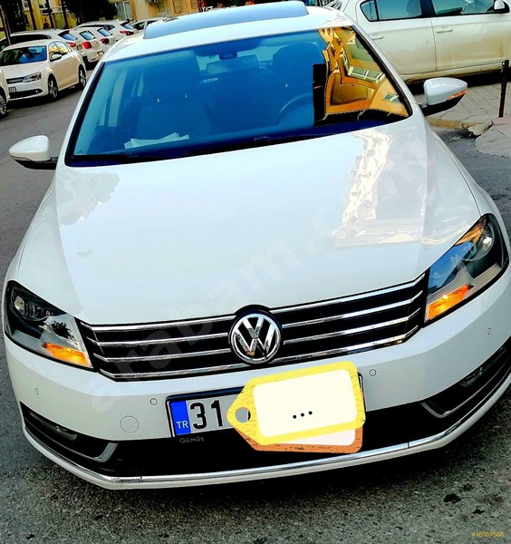 Sahibinden Volkswagen Passat 1.6 Tdi Bluemotion Comfortline 2012 Model Hatay 123.000 Km -