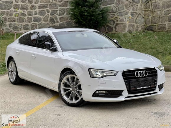 2014 Audi A5 Sportback Isıtma 3 Kol Direksiyon Elektrik Koltuk