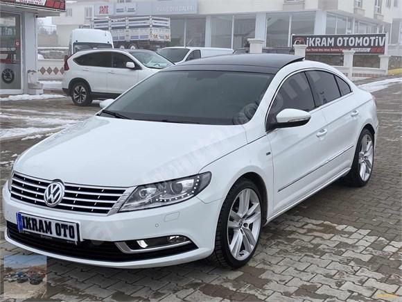 2015 VW CC 1.4 TSI ACT 150 HP EXCLUSİV SUNROF 110.000 KM BOYASIZ