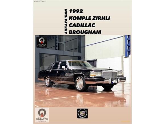 AKKAYA OTOMOTİVDEN 1992 B6 ZIRHLI ORJİNAL CADILLAC BROUGHAM