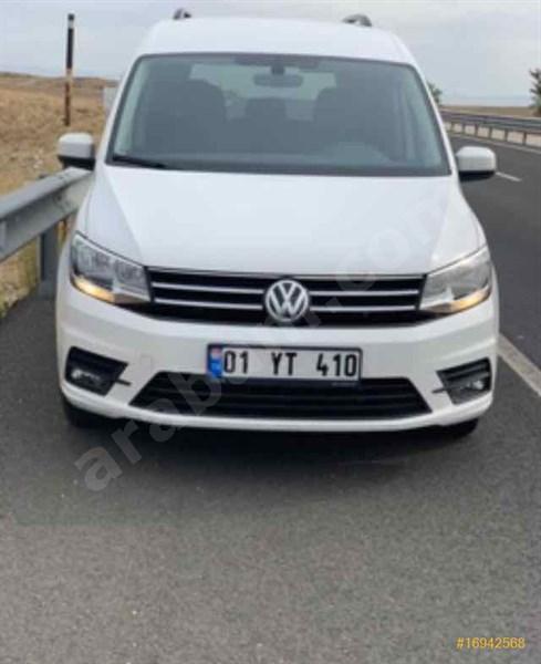 Sahibinden Volkswagen Caddy 1.6 Tdi Comfortline 2015 Model şanlıurfa 147.000 Km Beyaz