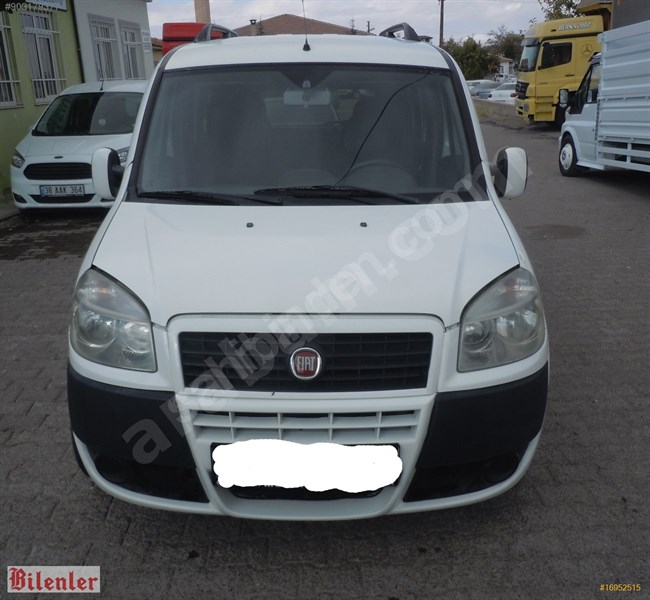 Galeriden Fiat Doblo Combi 1.3 Multijet Safeline 2012 Model Nevşehir 274.000 Km Beyaz