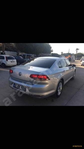 Sahibinden Volkswagen Passat 1.6 Tdi Bluemotion Comfortline 2015 Model Hatay 50.000 Km Mavi