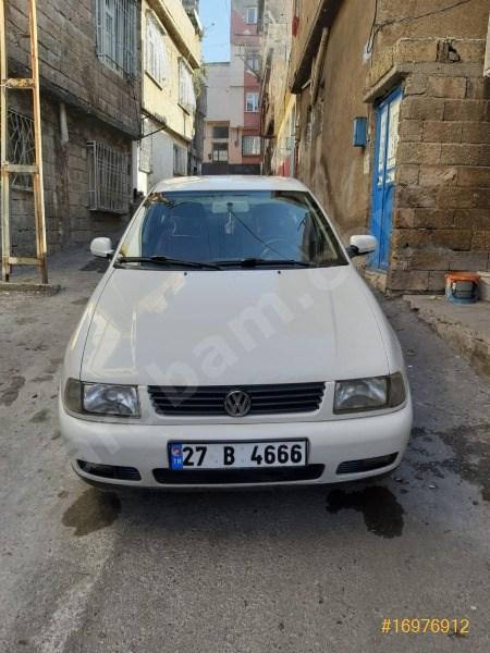 Sahibinden Volkswagen Polo 1.6 Comfortline Classic 2000 Model Gaziantep 157.000 Km Beyaz