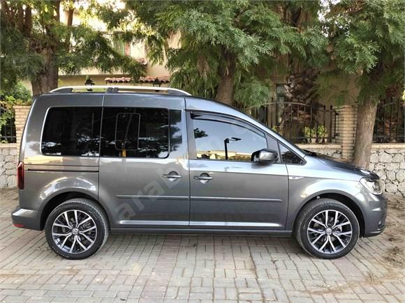 Volkswagen özel üretim Caddy 2.0 TDI Exclusive 14 bin km hatasız