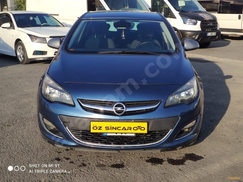 Galeriden Opel Astra 1.4 T Sport 2013 Model Diyarbakır 170.000 Km Mavi (metalik)
