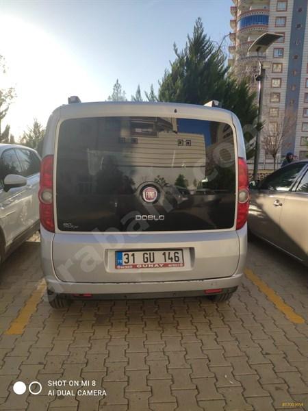 Sahibinden Fiat Doblo Combi 1.3 Multijet Elegance 2012 Model şanlıurfa 102.000 Km Gri (gümüş)