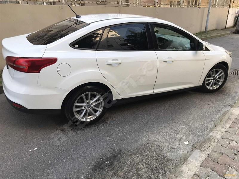 Galeriden Ford Focus 1.6 Tdci Trend X 2017 Model İstanbul 77.000 Km Beyaz
