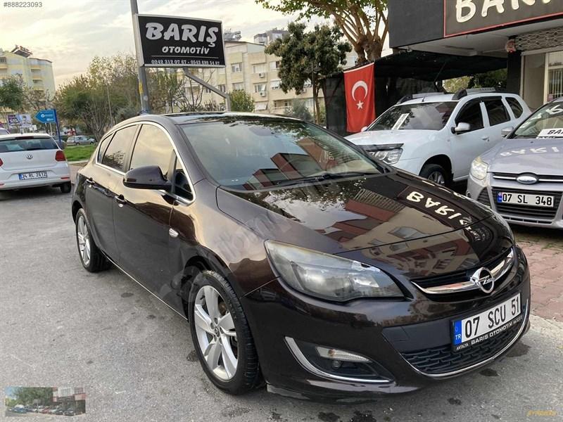 Galeriden Opel Astra 1.4 T Sport 2013 Model Antalya 113.000 Km Kahverengi