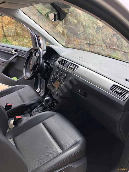 Sahibinden Volkswagen Caddy 1.6 Tdi Comfortline 2015 Model İstanbul 95.000 Km Gri